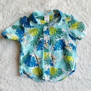 Toddler hawaiian summer shirt 12-18 months